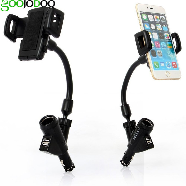 Universal car phone holder charger 2