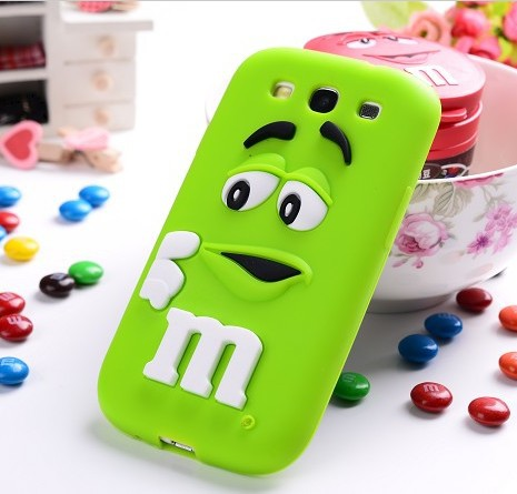 3D Cartoon Cute Silicon Cover Case Samsung Galaxy S3 i9300 i9308 Mobile Phone Soft Skin Cases Shell 9300 - Harley Technology store