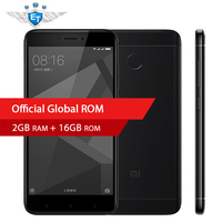 Original Xiaomi Redmi 4X Cell Phones 5 0 2 5D Screen Snapdragon 435 Octa Core 2GB