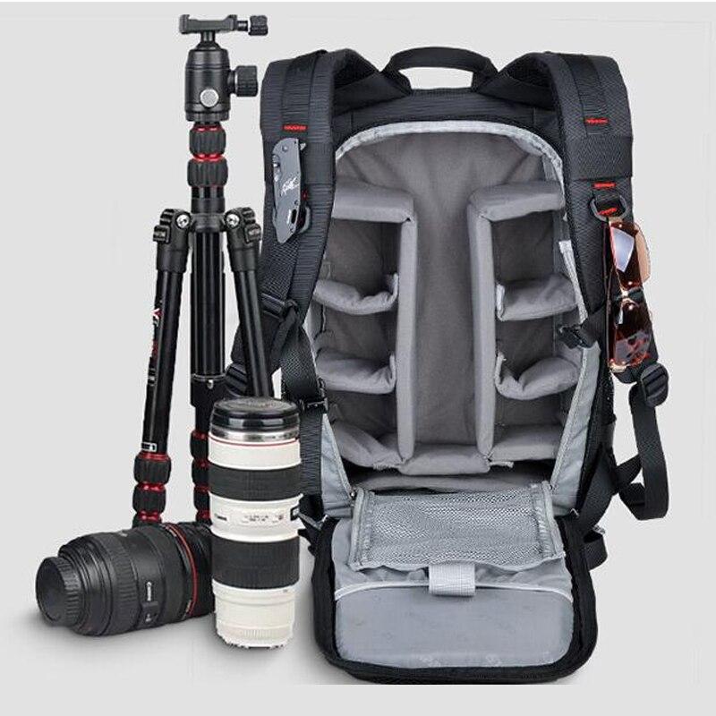Sinpa Big Capacity Travel SLR Camera Photography Bag Waterproof Backpack Bags Backpack Male For Canon Nikon Mochila caden m3 outdoor travel nylon shoulder bag for canon slr