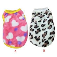 Leopard Pet Vest Clothes