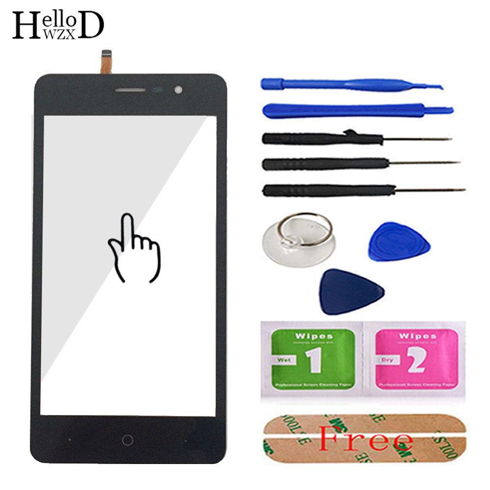 5.0'' Mobile Touch Screen For Doogee X10 Touch Screen Glass Tested Front Glass Digitizer Panel Lens Sensor Tools Free Adhesive