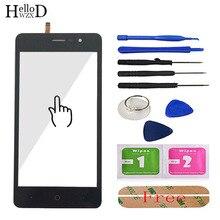 5.0 Touch Screen Cellulare Per Doogee X10 Vetro Dello Schermo di Tocco Testato Anteriore In Vetro Digitizer Lente del Pannello Sensore di Strumenti di Trasporto adesivo