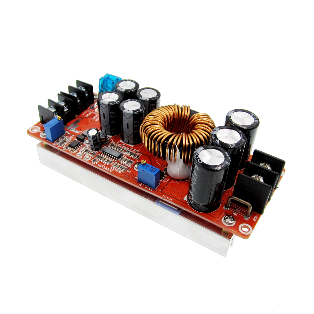 DC 20A 1200W Step-Up Boost Constant Current Module Variable Voltage Power Supply IN 8-60V Step Up Module Top Quality ltc3780 dc dc automatic lifting and pressing solar energy vehicle voltage constant voltage constant current power supply module
