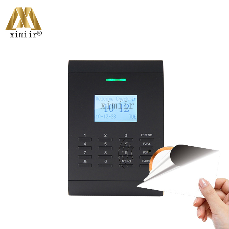 Black and white screen linux system TCP/IP MF card access control reader access control system SC403 free shipping