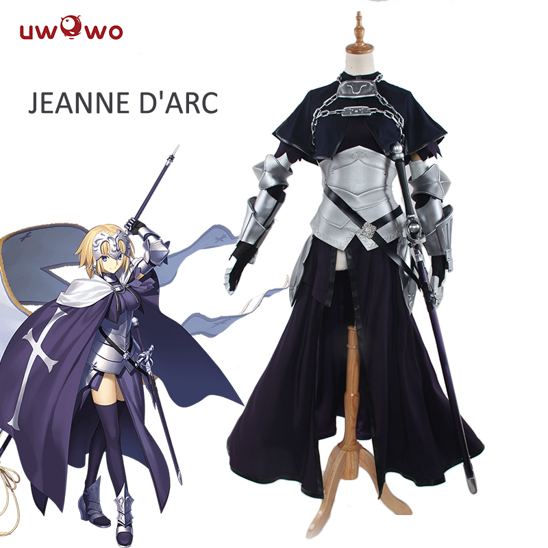 UWOWO Jeanne d'Arc Jeanne d'Arc Cosplay Sort Grand Ordre Costume Apocryphes Jeanne Cosplay Sort Grand Ordre Anime Costume Femmes