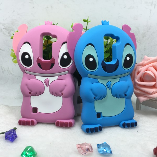 3d Cartoon Stitch Soft Silicon Back Cover Phone Case For
