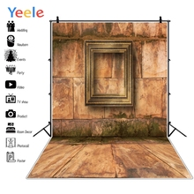 Yeele Stone Wall Grunge Retro Photo Frame Photographic Backgrounds Professional Camera Photography Backdrops For Studio