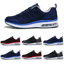 9d6460853260 Man Breathable Fly Line Men Sports Shoes High-quality Air-cushion Outdoor Running  Shoes Athletic Training Men s Shoes Zapatos