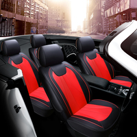 Full Cover Fit Design Car Seat Cover Leather Car Cushion For Peugeot 206 207 2008 301