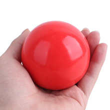 Pet Puppy Dog Products Red Solid Natural Rubber Elastic Pet Ball Toys, Bite Resistant Dog Toy Squeakers Training Toys