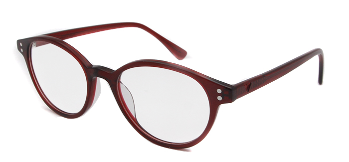 Vintage glass red
