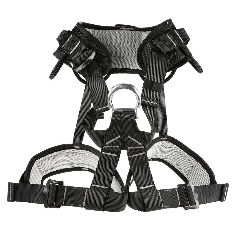 Ceinture d'escalade professionnelle en plein air ceinture d'alpinisme descente rappel ceinture de sécurité équipement d'escalade outil de sauvetage