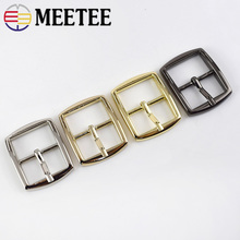 Meetee 5pcs 20mm Metal Pin Buckle DIY Shoulder Strap Adjustment Tri Glide Luggage Hardware Sewing Accessories BD512