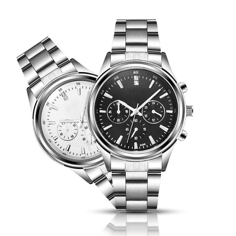 Watch Women Men Quartz Wrist Watches Stainless Steel Watches relogio Brief Watches