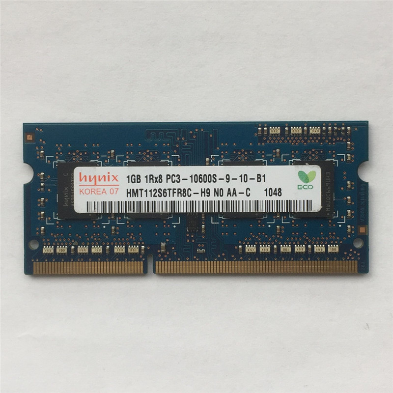 Hynix or Micron 1Rx8 Desktop DDR3 RAM PC3-10600E 1GB
