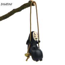 1 Pc Cute Anime Ghibli Spirited Away No Face Man Action Figure Miyazaki Hayao Kaonashi Model Decoration Doll Kids Toys