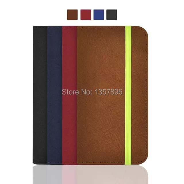 watch 182be f2495 US $8.66  Matte Leather Case For i6 Quality PU Rubber Band Ultra Thin Flip  Cover Wallet Card Slot Stand Holder Function Funda For iPhone 6 on ...