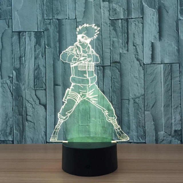 Kakashi 3D LED Night Light
