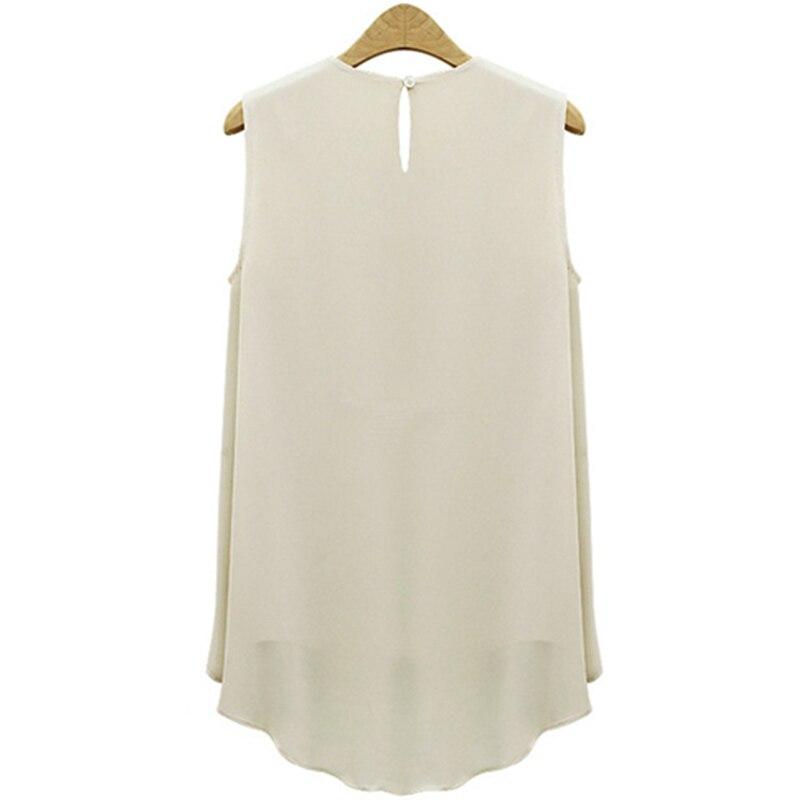HTB1c1p3JXXXXXc6XpXXq6xXFXXXA - Summer Shirts Plus Size Ruffles Tops Sleeveless O-neck