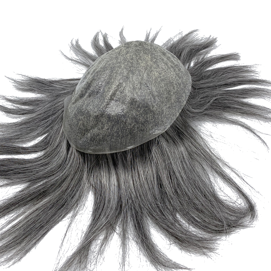 Skin Toupee Base For Any Color Prosthesis Hair Men Hair Weave Stock Free Shipping