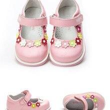 Модная 1 пара ортопедической обуви из натуральной кожи, детские кроссовки для девочек, новая детская обувь+ внутренняя часть 13,2-15,9 см