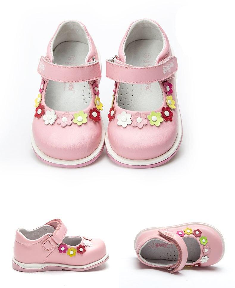 Fashion 1pair Orthopedic Shoes Genuine Leather Girl Sneaker Children, New Kids Shoes+inner 13.2-15.9cm