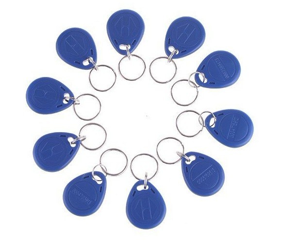 RF Proximity EM Card ,key Fob 125kHz,shape Card,keyfob Tags +min:10pcs