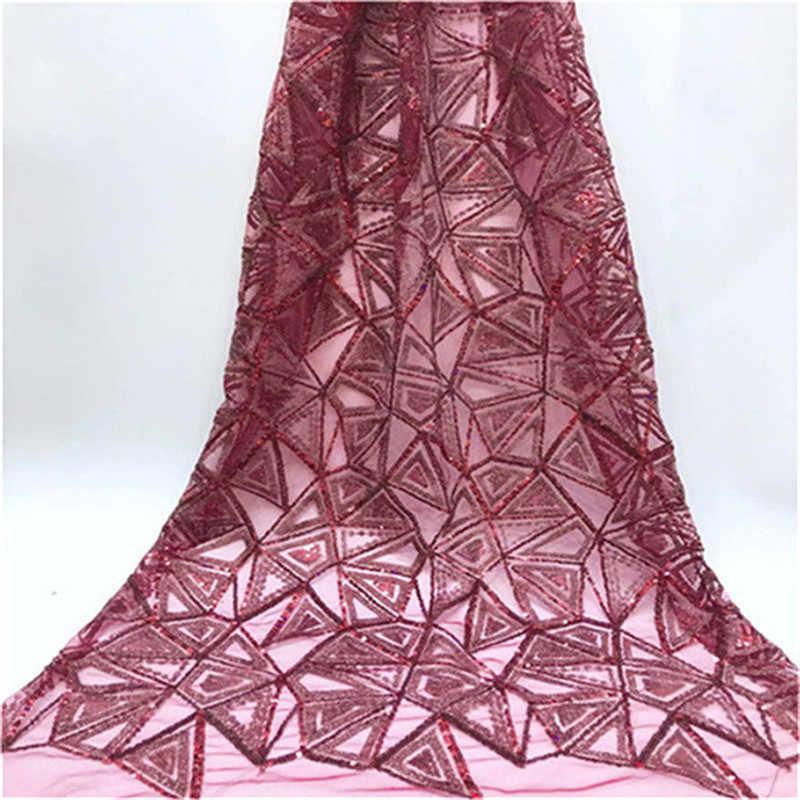 Высококачественная африканская кружевная ткань с золотыми блестками Tissu индийское свадебное платье ткань французская швейцарская Вуаль Сетка, фатин, кружева материал