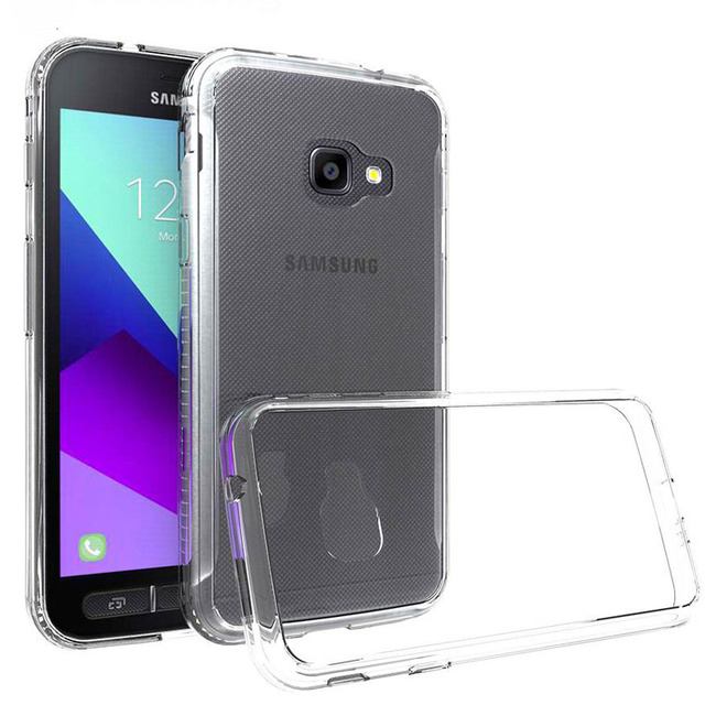 wholesale dealer 4d23f 192e1 US $2.99 |Rugged Case For Samsung Galaxy Xcover 4 Case For Samsung Xcover 4  TPU Silicone Bumper Hard Clear Back Cover For Samsung Xcover4-in Phone ...