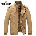 Tangnest popular 2017 nueva chaqueta de los hombres, además de terciopelo engrosamiento superior esponjosa calidad armygreen/khaki m-xxxl al por mayor y venta al por menor mwj193