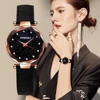 Gogoey frauen Uhren 2019 Luxus Starry Sky Armbanduhr Top Marke Luxus Damen Uhren Pelz Frauen Strass bajan kol saati
