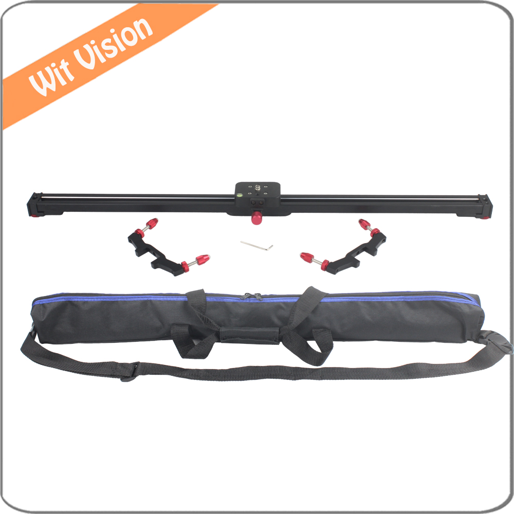 80CM Aluminum Alloy DV Rail Slider for DSLR Cameras and Camcorders with Carrying Bag купить