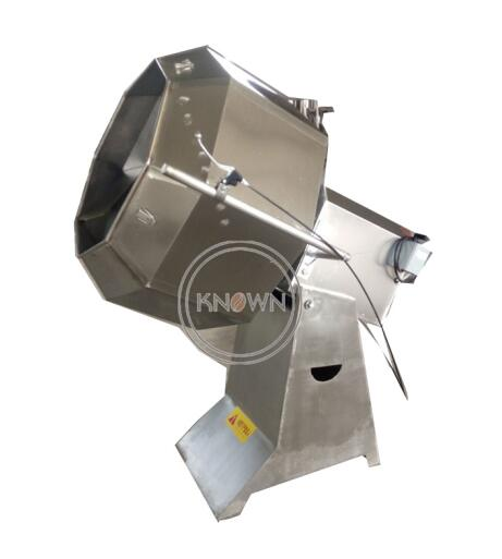 Full Food Grade Stainless Steel Snack Food Flavoring Seasoning Machine Seasoning Mixer Machine