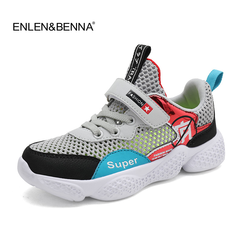 Kids Shoes 2019 Boys Black Shoes Girls Causal Leather Sneakers Children Breathable Shoes Toddler Sports Sneakers Running Shoes