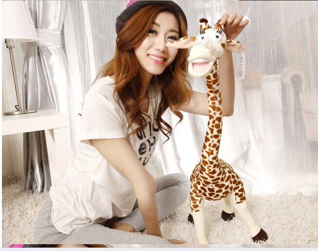 Permalink to stuffed animal plush 55cm  Madagascar giraffe plush toy soft doll w2384