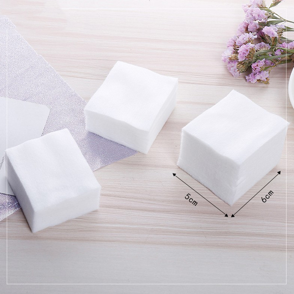 Tools & Accessories Beauty & Health Temperate 2018 New 1000pcs/set Cosmetic Non-woven Fabric Pads Remove Makeup Wipes Soft Eyeshadow Mascara Remover Facial Cleansing Paper