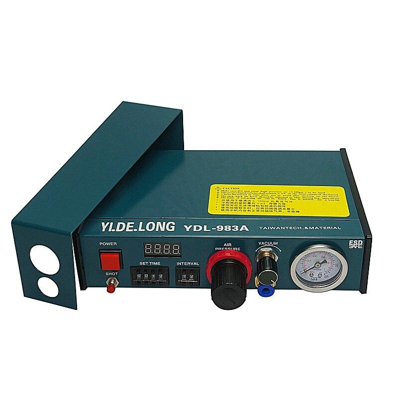 Auto Glue Dispenser Solder Paste Liquid Controller Dropper Fluid dispenser YDL 983A 220V 110V
