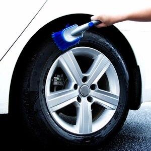 Image 3 - 3 Size Multi Functional Car Tyre Cleaning Brush Tire Wheel Rim Hub Brushes Auto Washer Vehicle Body Surface Wheel Scrub  Cleaner