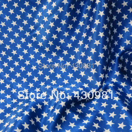 Blue Curtains blue curtains with white stars : Aliexpress.com : Buy royal blue satin fabric geometric stars print ...