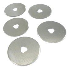 10pcs 45mm Rotary Cutters Spare Blades Quilters Sewing Cut Fabric Leather Vinyl Paper Rotary Cutter Blades Olfa/Dafa/Fiskers T10