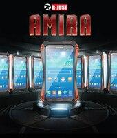 New Arrival AMIRA Waterproof Shockproof Carbon Fiber Metal Aluminum Gorilla Glass Amiro Shellr Case Cover For