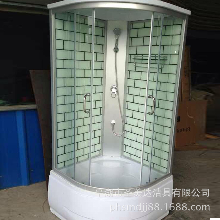 Factory direct steam shower room sauna bath tub bath cabinet ...