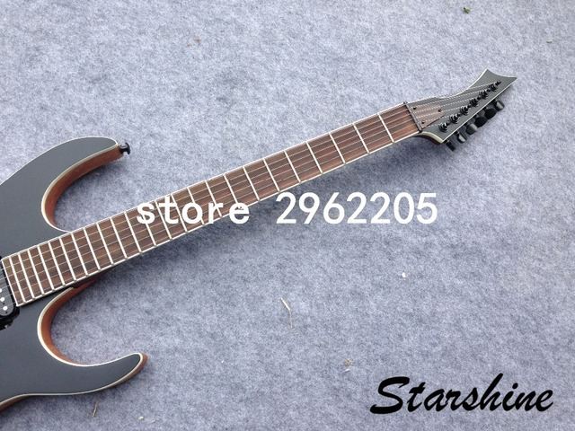 Starhine 7 string electric guitar mahogany body  rosewood fingerboard good quality Free shipping  1
