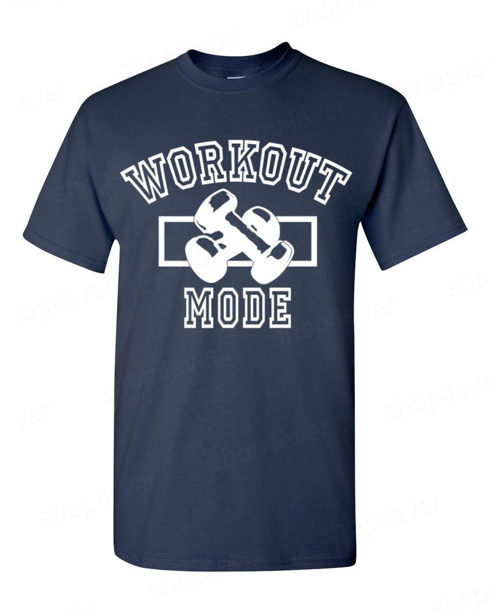 Cheap T Shirts Online Men'S Print Crew Neck Workout Mode ...