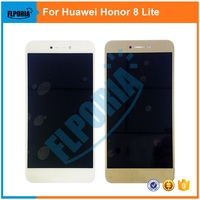 1PCS Original For Huawei Honor 8 Lite LCD Display With Touch Screen Digitizer Assembly Replacement Parts