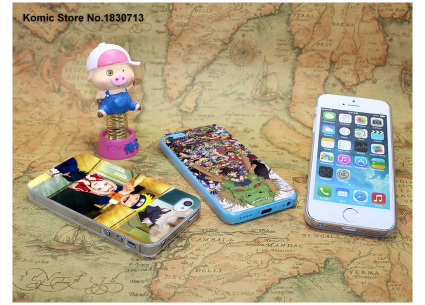Naruto one piece Case for iPhone