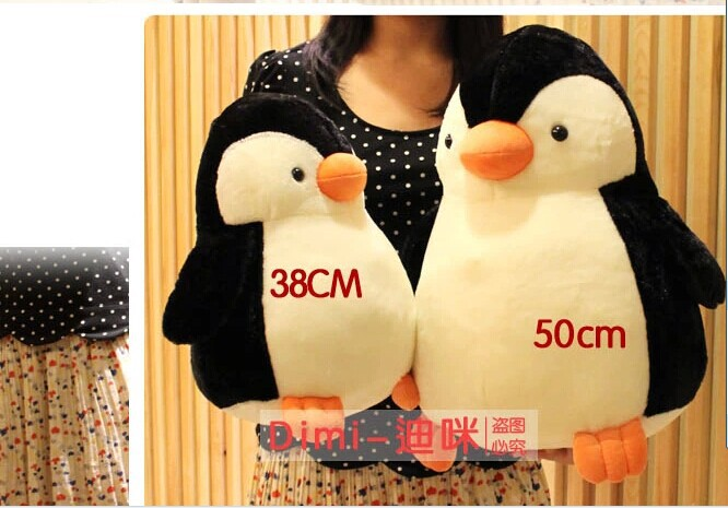 Stuffed animal 50cm cute penguin plush toy soft doll gift w2653 от Aliexpress INT