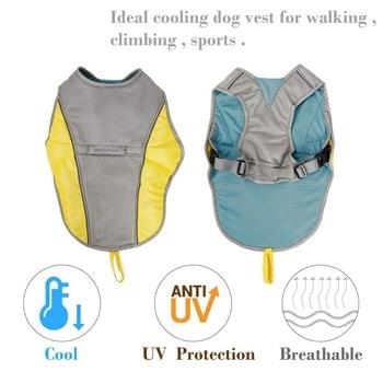 Summer Dog Cooling Vest Clothes Cooling Harness  3