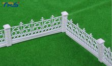 2017 model guardrail architectural scale fence 1/200 garden railing